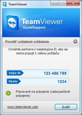 Správa PC na diaľku Teamviewer2-2